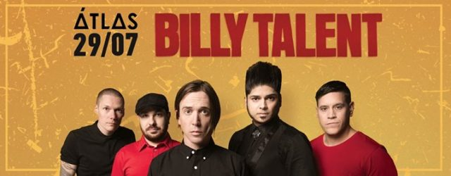Концерт гурту Billy Talent